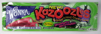 Wonka Kazoozles - Strawberry Melon flavor