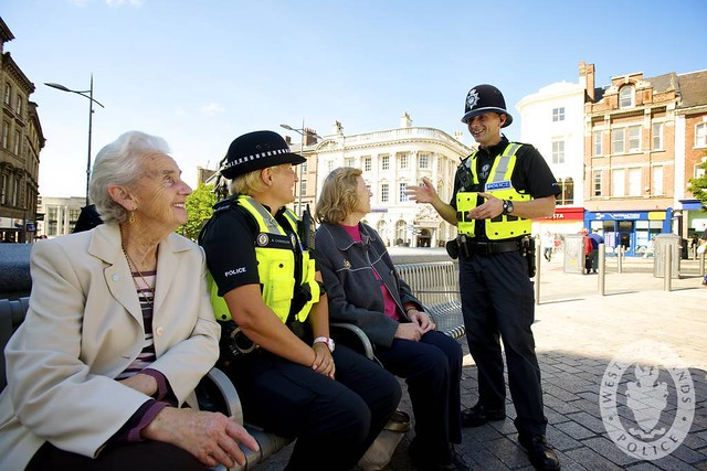 Day 134 - Wolverhampton city centre officers on patrol