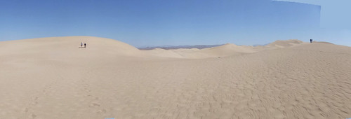 Panoramic dune view