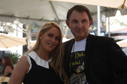 Robin Arcuri & Author Luigi Falconi