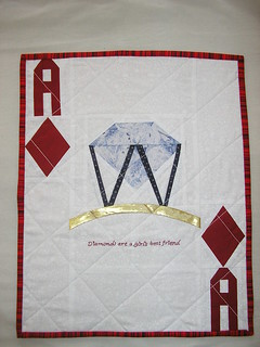 The Smart Girl's Ace of Diamonds Quilt