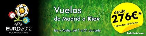 Ofertas eurocopa 2012 Madrid Kiev