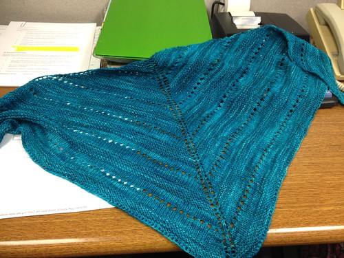 LaLa's Simple Shawl