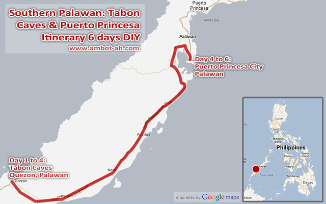 Tabon Caves, Quezon and Puerto Princesa DIY Itinerary for 6 days
