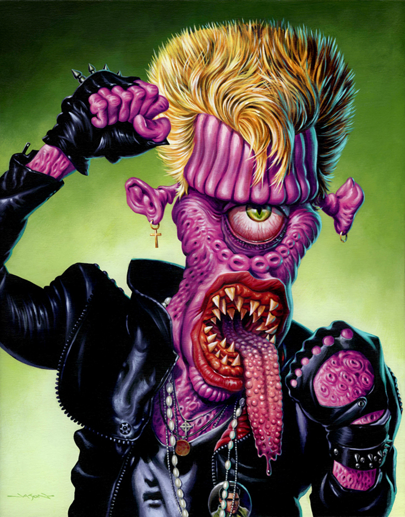Jason Edmiston - (Monsters Of Rock) Billy
