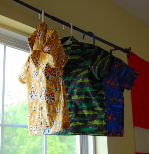 3 shirts