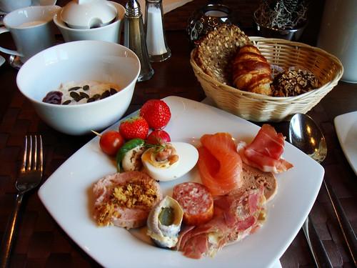 Breakfast Buffet: My Selection