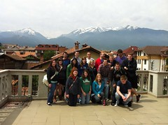 Bansko, Bulgaria/ all the students