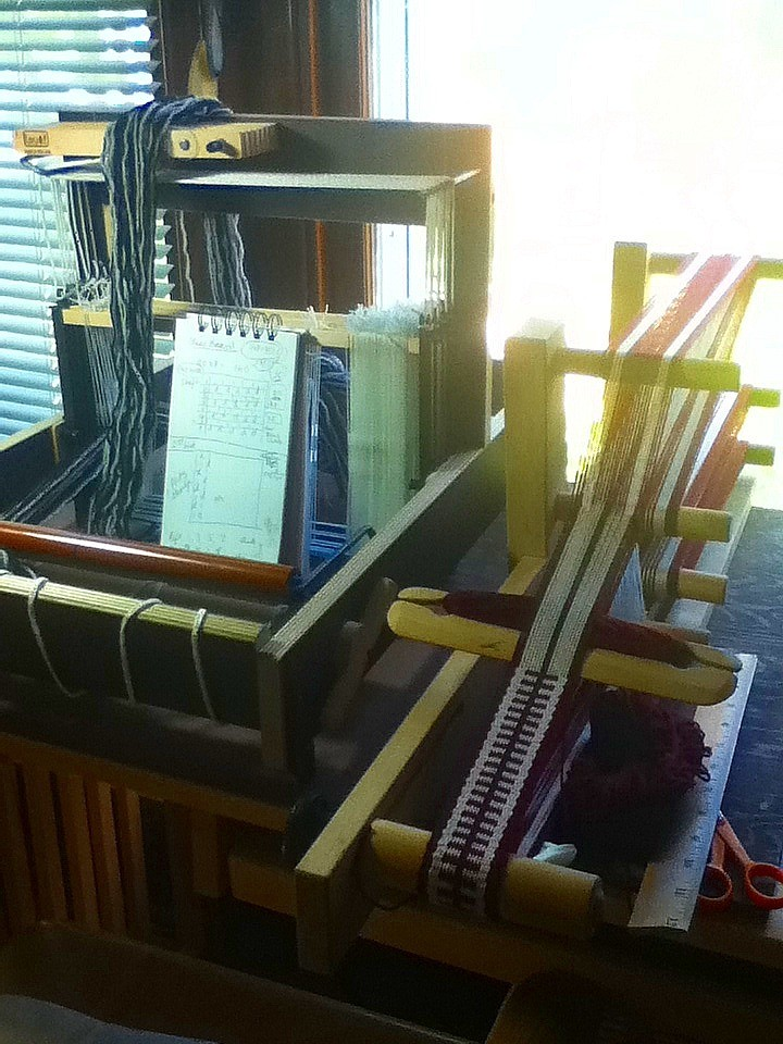 Two looms