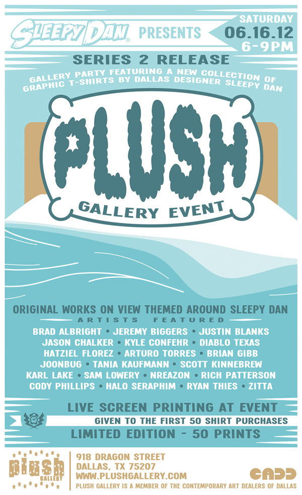 Sleepy Dan's Plush Gallery Event