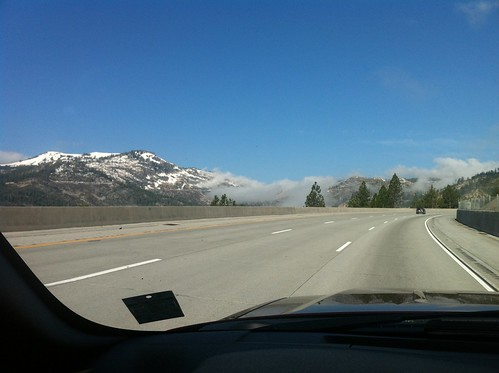 Clouds over Donner