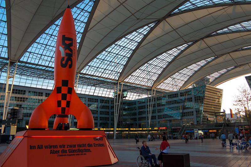 Powershot Flughafen München Franz Josef Strauß