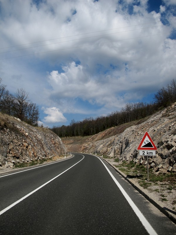 Sur la route@Krbavsko polje