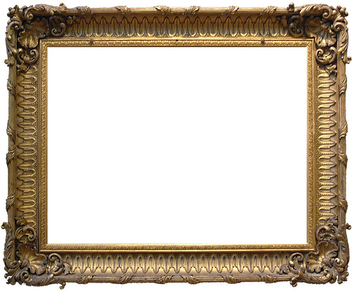 Frame 16 - Ornate Gold