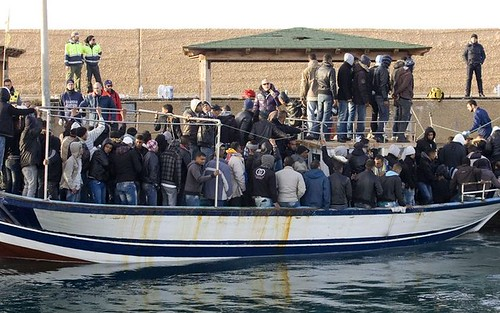 Lampedusa, tre sbarchi nella notte$