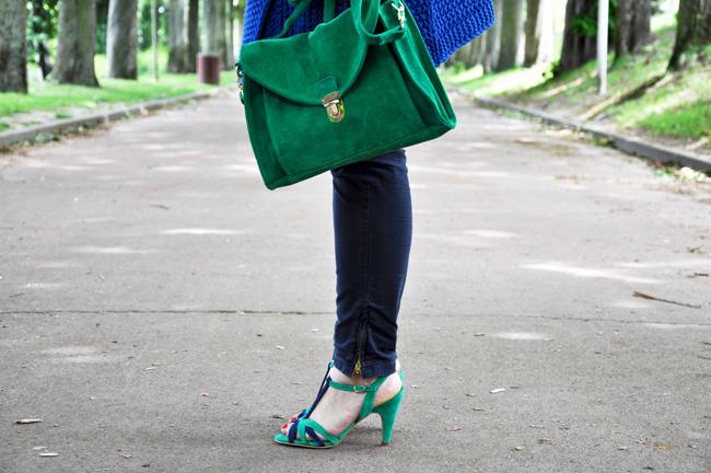 Blog mode, vetements fashion, fashion blog -Bleu cobalt - 1
