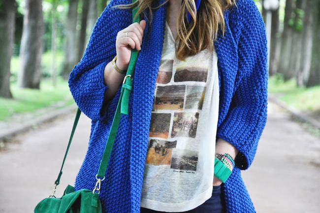 Blog mode, vetements fashion, fashion blog -Bleu cobalt - 0