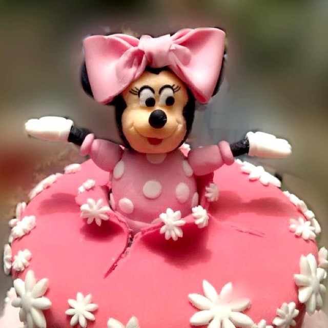 Tarta fondant minnie mouse | Flickr - Photo Sharing!