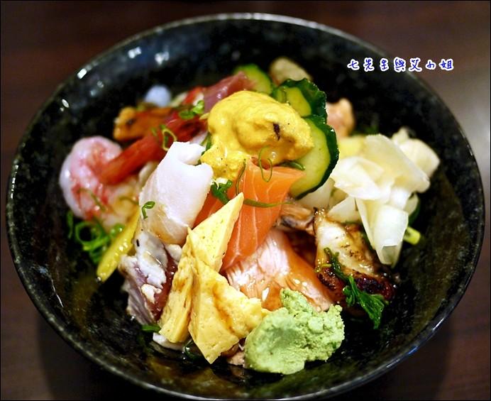 10 海鮮丼+海膽