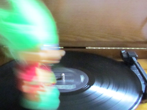 spinning on a record: troll disco by William Keckler
