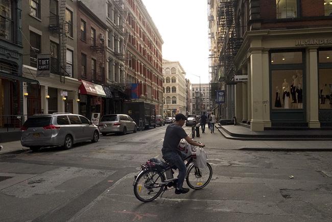 Cyclist, Soho