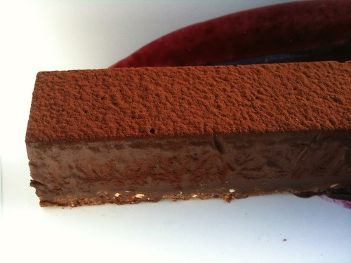 Chocolate Truffle Tart ($8.50)