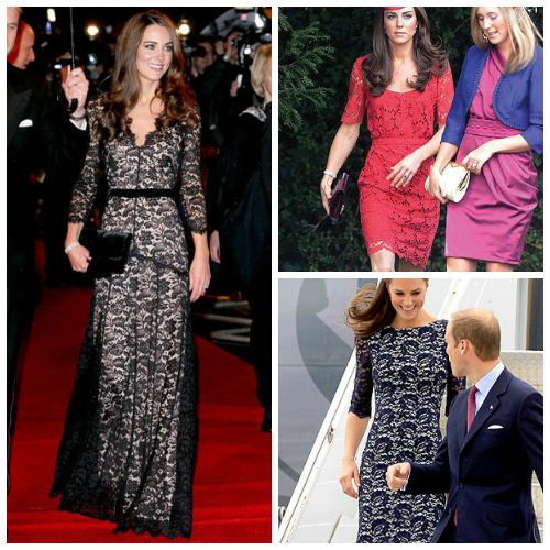 Kate Middleton Inspiration for lace dress