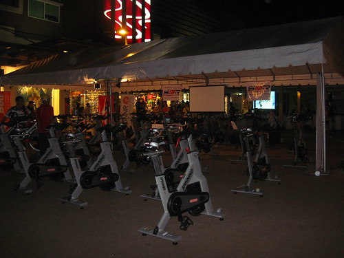 RUNNR Discover Duathlon: Stationary Bikes