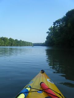 Broad River Paddling May 26, 2012 6-32 PM