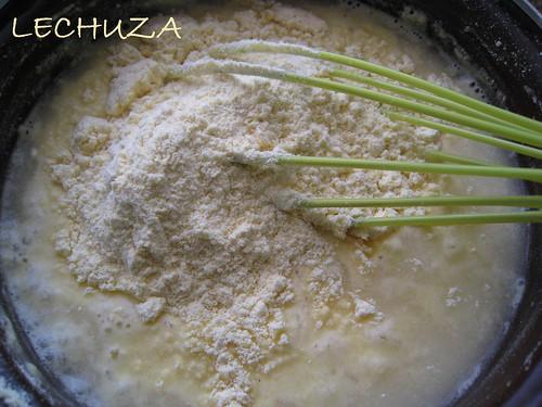 Filloas de maiz con chori y grelos (3)