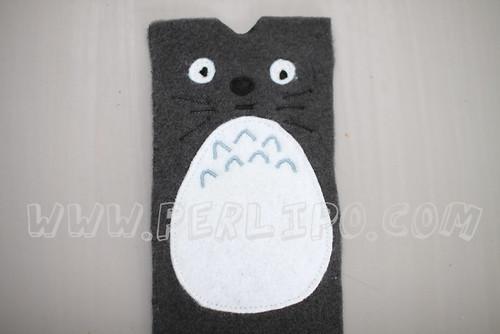 Tuto housse smartphone Totoro