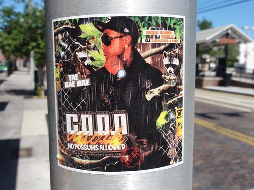 Coon Muzik sticker