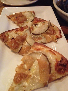 Pear and Gorgonzola Flatbread