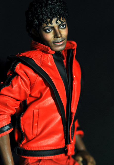 Michael jackson thriller hot toys repaint flickr for Three jackson toy