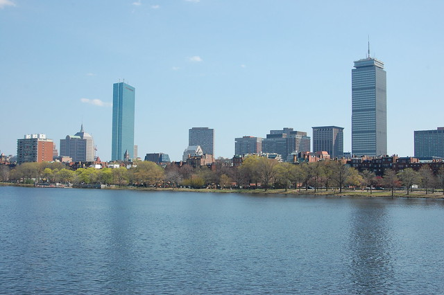 Views of Boston from the Mass Ave Bridge