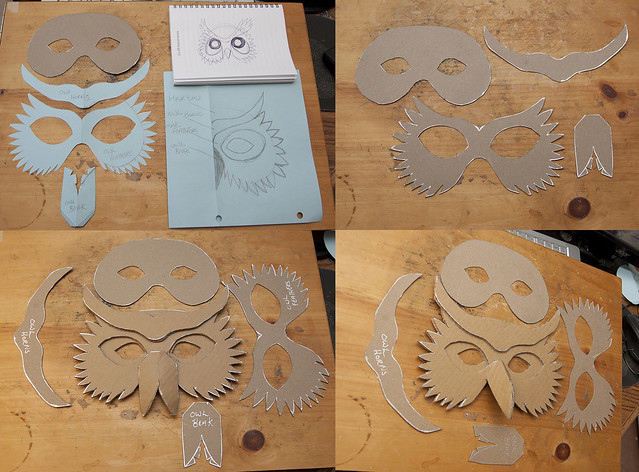 Cliff Note Simple Owl Mask