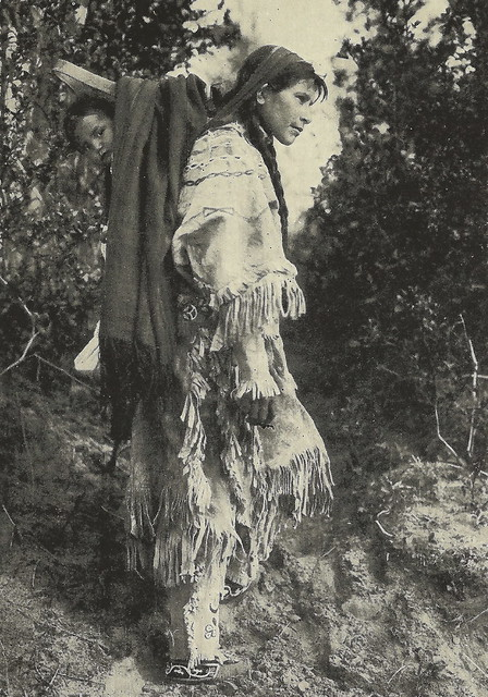 Native American Indian US Americana Ironwood MI 1940 ...