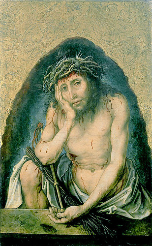 Dürer - Christ as the man of sorrows [1493] by petrus.agricola