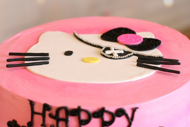 Hello Kitty Birthday Cake 006