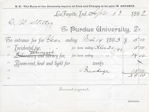 Sept 1894 Purdue Bill