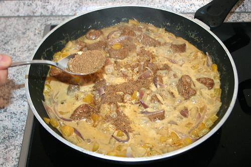 24 - Mit Garam Masala würzen / Taste with garam masala