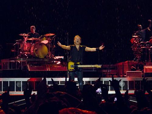 Bruce y la lluvia
