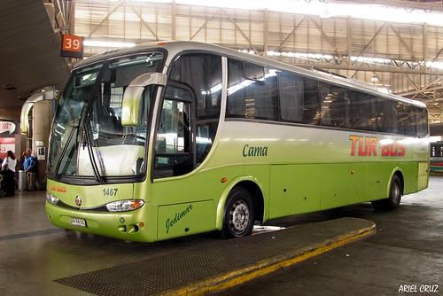 Tur Bus | Terminal San Borja | Marcopolo Viaggio 1050 / XB9850