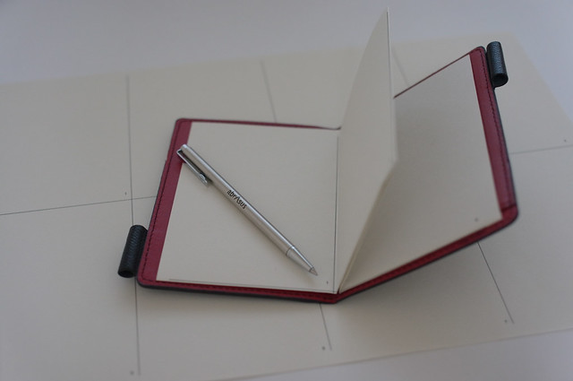 薄いメモ帳のノート(A4コピー用紙)