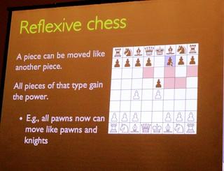Reflexive Chess