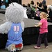 """Star"" the Atlanta Dream Mascot"