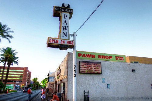 "The ""Pawn Stars"" Pawn Shop in Las Vegas"
