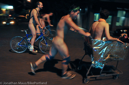 2012 World Naked Bike Ride - Portland-38