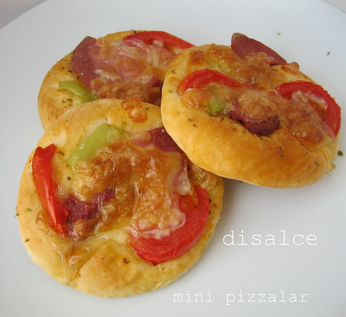 mini pizzalar