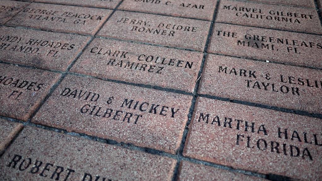 Olympic Park Engraved Bricks